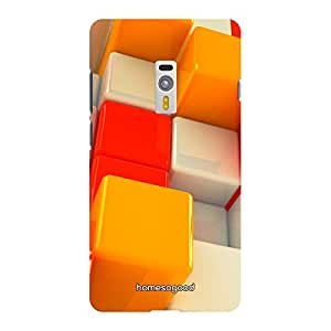 HomeSoGood Multicolor Cubs Multicolor 3D Mobile Case For OnePlus 2 (Back Cover)