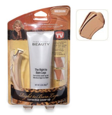 Joan Rivers Beauty-The Right to Bare Legs Corrective Cover Up- Medium