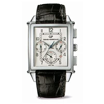 Girard Perregaux Vintage 1945 Silver Dial Mens Watch 25840-11-111-ABA6A