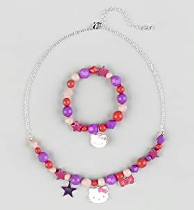 Hello Kitty Assorted Charm Necklace