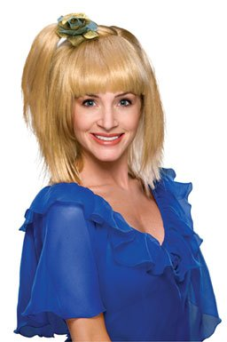 70's Prom Girl Wig Adult Costume Accessory