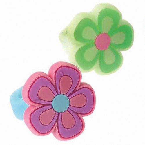 Flower Rubber Rings