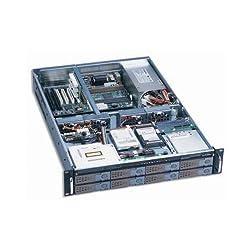 Dynapower EJ-2U6510-C Black Heavy Duty Steel 2U Rackmount Server Case 32.5