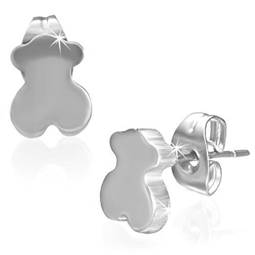 stainless-steel-tiny-teddy-bear-pair-of-stud-earrings-k163