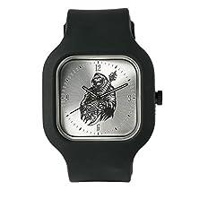 buy Black Fashion Sport Watch Grim Reaper Heavy Metal Rock Player