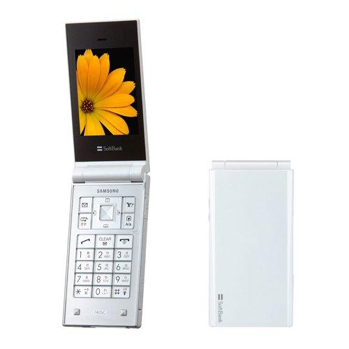 SIMフリー ソフトバンク 740SC ホワイト 【SIMロック解除済み】