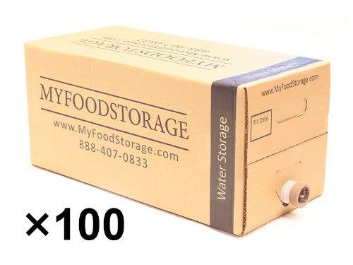 My Food Storage 500 Gallon Water Box Storage front-59032