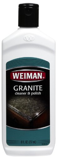 Weiman Granite and Corian Cleaner Polish 8oz bottle