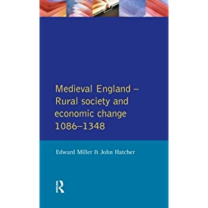 Medieval England: Rural Society and Economic Change, 1086-1348 (Social and Economic History of England) (Paperback)