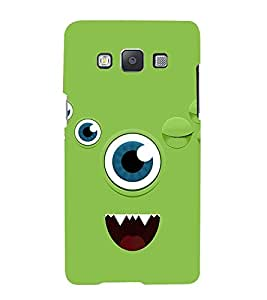 Animated Eye Cute Fashion 3D Hard Polycarbonate Designer Back Case Cover for Samsung Galaxy A7 :: Samsung Galaxy A7 Duos :: Samsung Galaxy A7 A700F A700FD A700K/A700S/A700L A7000 A7009 A700H A700YD