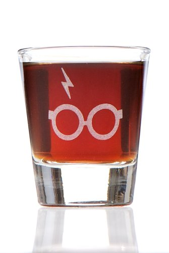 Minimalist Potter: Harry Potter Inspired Shot Glass (Personalized Harry Potter compare prices)