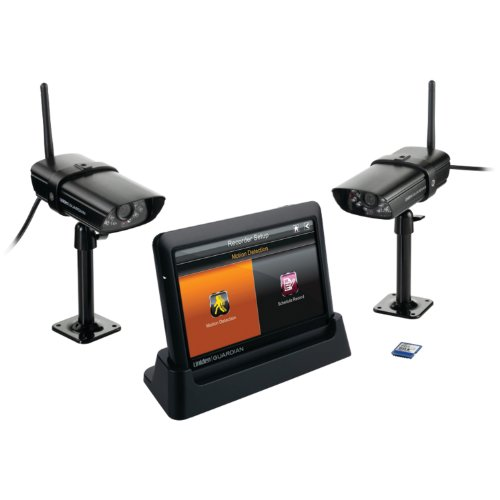 Uniden Guardian Advanced Wireless 7-Inch Screen Video Surveillance System with 2 Outdoor Cameras - Black (G755) (Security Cameras Direct compare prices)