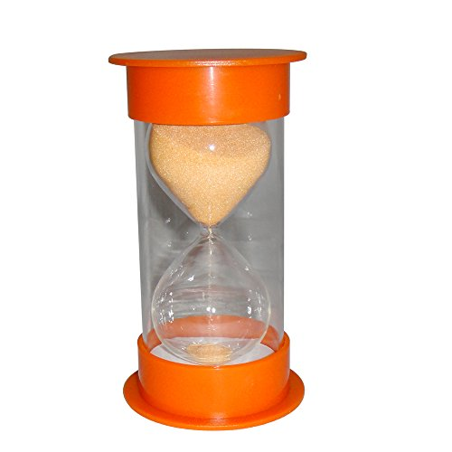 VStoy Hour glass 30 Minutes Sand Timer-Orange
