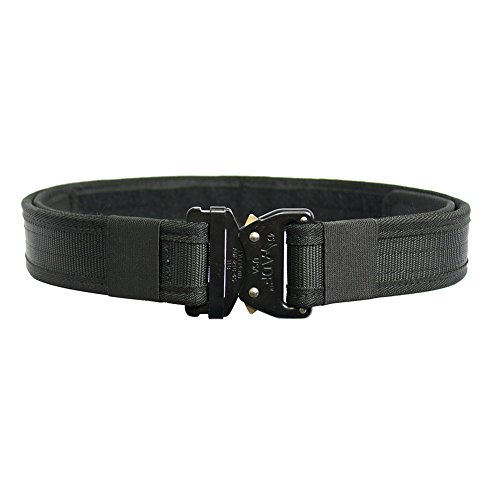 Fusion Tactical Military Police Security Guard Patrol Belt Black Medium 33-38