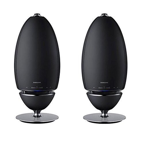 Samsung 2-Pack Radiant 360 R7 Wi-Fi Bluetooth Wireless Multi-Room 2-Way Streaming Speakers