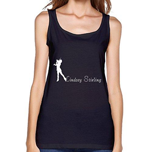 Lindsey Stirling 2016 Tour Logo Women Tank Top Black (Njoy Tank compare prices)