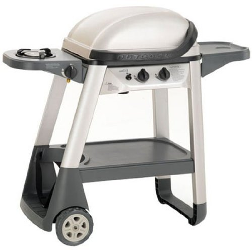 Outback - Excel 300 - Gas Barbecue Grill - Wheeled Stand, Cover - 4-6 People