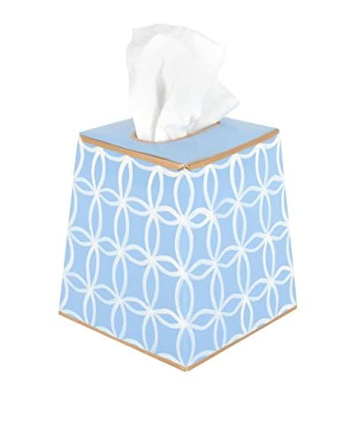 Jayes Rings Tissue Box Cover, Blue