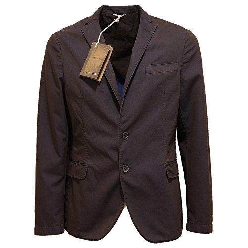 7618O giacca MANUEL RITZ marrone giacca uomo jacket men [50]