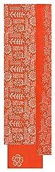 Fashion Hut Women's Cotton Unstitched Dress Material (Orange)