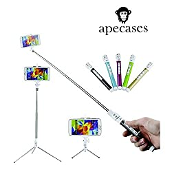 ApeCases Branded THE MOST UPGRADED AND ULTIMATE VERSION OF SELFIE STICK..BRAND NEW MONOPOD CUM TRIPOD.....AND FREE SHIPPING AND FREE SELFIE DESTINATIONS GUIDE