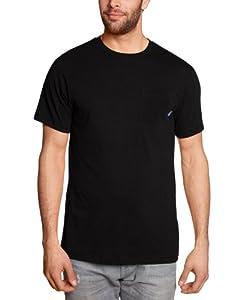 Vans Herren T Shirt Everyday Pocket. black, XS, VS2SBLK