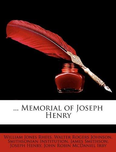... Memorial of Joseph Henry
