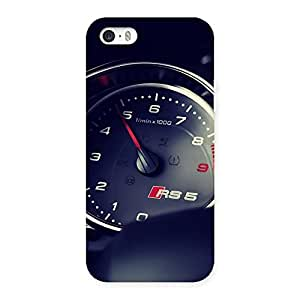 Gorgeous Speedo Meter Multicolor Back Case Cover for iPhone SE