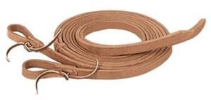 Weaver Leather ProTack Split Rein, 3/4-Inch x 8-Feet, Brown