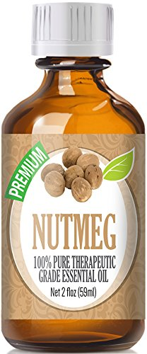Nutmeg (60ml) 100% Pure, Best Therapeutic Grade Essential Oil - 60ml / 2 (oz) Ounces