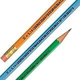 Pi Day March 14 - Pi Digits Pencils - 144 per box