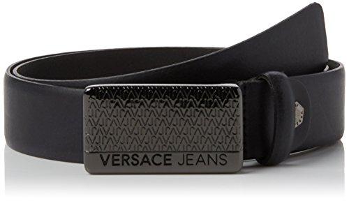 Versace Jeans, Cintura Uomo, Nero, 105 (Taglia Produttore:105)