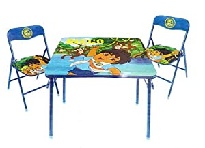 Go Diego Go 3 Piece Table & Chairs Set