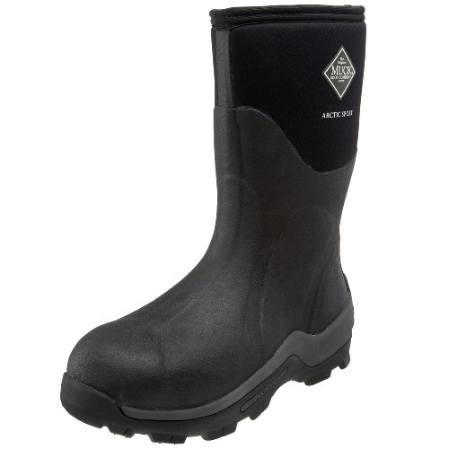 The Original MuckBoots Arctic Sport Mid Outdoor Boot,Black,13 B(M) Womens / 12 D(M) Mens