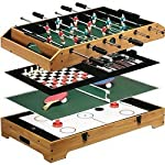 Franklin Sports 6-In-1 Table Top Game Center