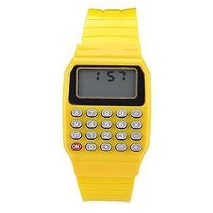 Moonar®Silicona fecha multiusos electrónica calculadora reloj de pulsera para los niños de Moonar