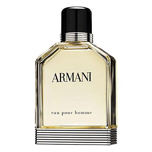Armani Eau Pour Homme Profumo Uomo di Giorgio Armani - 100 ml Eau de Toilette Spray