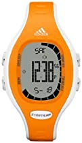 Adidas Unisex Naloa ADP3112 Orange Polyurethane Quartz Watch with Black Dial