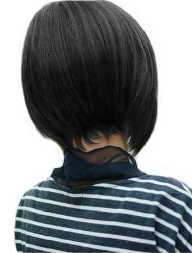 Fashion Women's BOB Wig (Model:jf010409) (Black)