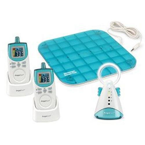 Angelcare Ac401-2P Deluxe Movement And Sound Monitor With 2 Rechargeable Parent Units