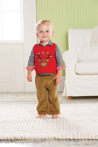 Mud Pie Baby-Boys Infant Reindeer 3 Piece Set, Multi Colored, 2T-3T front-577985