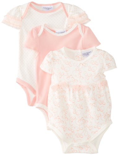 d2346211d kyle   deena Baby-Girls Newborn 3 Pack Bodysuit - Tiny Dancer ...