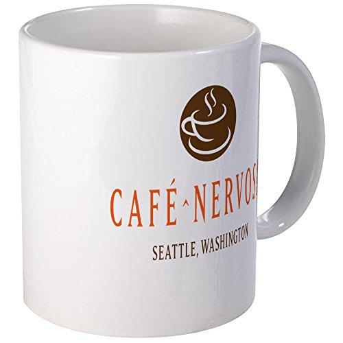 CafePress Tazza Nervosa Standard, per tazze, colore: Multicolore