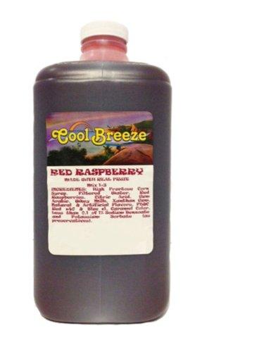 Red Raspberry Frozen Drink Machine Granita Slush Mix