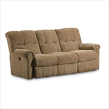 Lane Furniture Griffin Power Double Reclining Sofa in Walnut