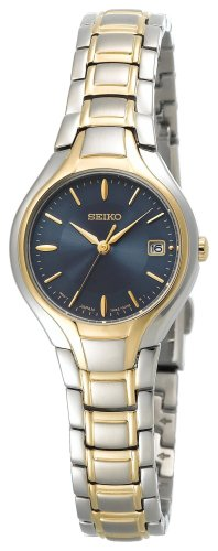 Seiko Women's SXDA34 Dress Two-Tone Watch
