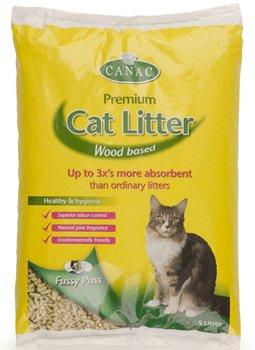 Canac Premium Wood Based Cat Litter