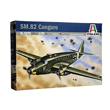 Italeri - I1273 - Maquette - Aviation - SM 82 Canguro - Echelle 1:72