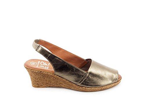 Pelle Oh my Sandals Sandalo 3300 41 Oro
