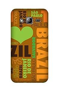 ZAPCASE PRINTED BACK COVER FOR SAMSUNG J3 - Multicolor